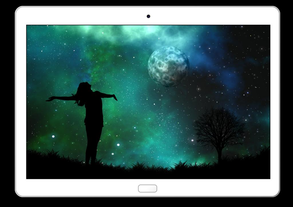 mit owltab lässt du dein Tablet schweben, deine Hände brauchst du fürs Popcorn - owltab® der schwebende Tablethalter für Nachteulen